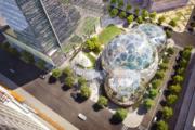 40亿美金造3个大玻璃球 全世界的总部都败给亚马逊(图)