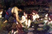 名画《海勒斯和水神》因太色 被移出英国画廊