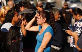 洛杉矶中学惊传枪击案 12岁女童在教室开火(组图)